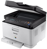 Samsung Xpress SL-C480FW XAA Color Laser Multifunction Printer